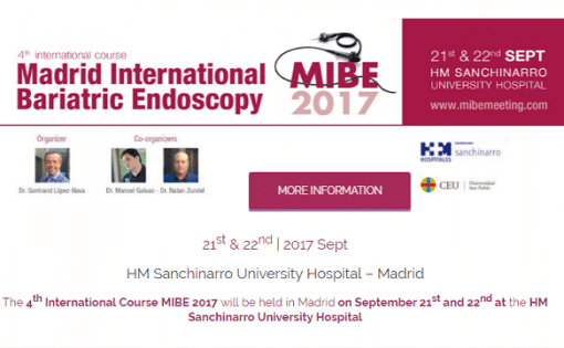 MIBE 2017 - Madrid International Bariatric Endoscopy Meeting - mid