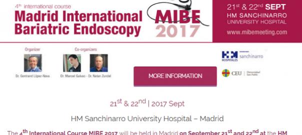 MIBE 2017 - Madrid International Bariatric Endoscopy Meeting - mid