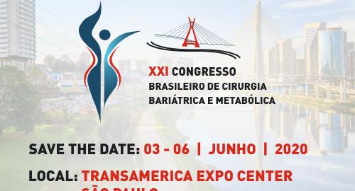 SBCBM 2020 - congresso brasileiro de cirurgia bariatrica e metabolica